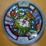 【トゲニャン】QRコード[妖怪メダル第2章ホロメダル]