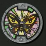 【サイコウ蝶】QRコード[妖怪メダル ガシャ第三弾 ノーマルメダル]