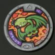 ブカッコウQRコード【第三弾ノーマルメダル】妖怪ウォッチ